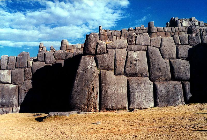 File:Sacsahuaman wall3.jpg