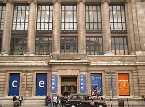 The Science Museum, where Frank Greenaway was ...