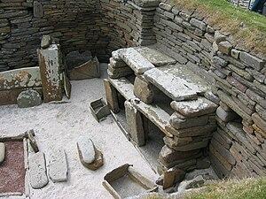 English: Skara Brae, Neolithic settlement, Ork...