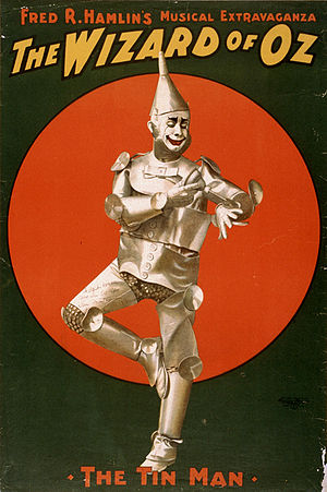 The Tin Man. Poster for Fred R. Hamlin's music...