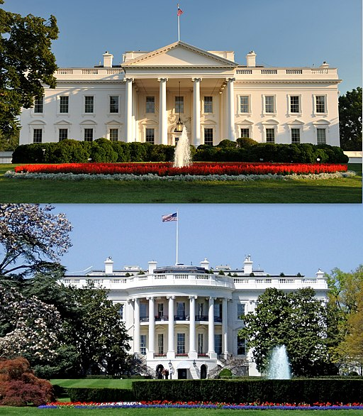 White House north and south sides