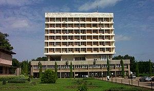 Senate building of the Ahmadu Bello University...
