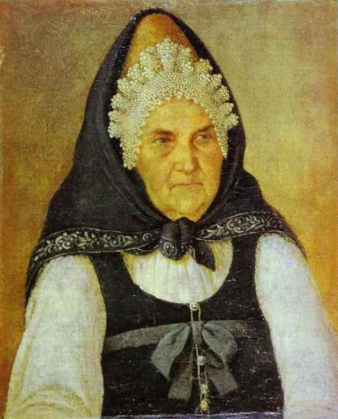 File:Alexey Tyranov. Portrait of a Merchant's Wife. 1820s (Tver museum).jpg