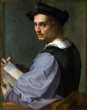 The so-called Portrait of a Sculptor, long bel...