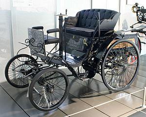 """Karl Benz's """"Velo"""" model (1894) - en..."""