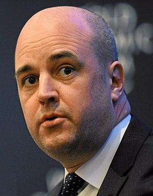 English: Fredrik Reinfeldt, The Prime Minister...