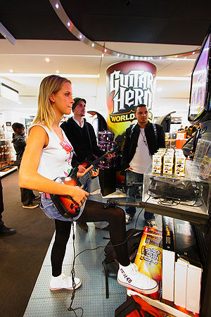 Guitar Hero Girl Fanny
