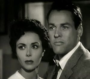English: Dana Wynter & Kevin McCarthy in Invas...