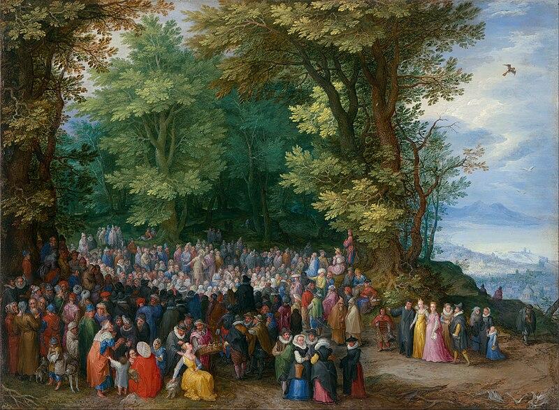 File:Jan Brueghel the Elder - The Sermon on the Mount - Google Art Project.jpg