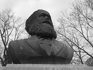 Karl-Marx-Denkmal in Frankfurt (Oder), Karl-Ma...