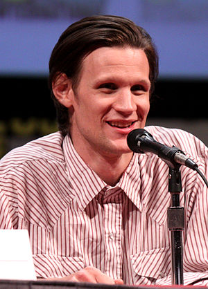 English: Matt Smith at the 2011 Comic Con in S...