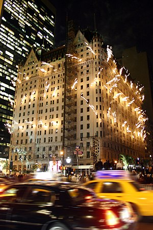 The Plaza Hotel celebrated its 100th year in 2007
