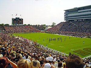 Football game at Ross-Ade Stadium