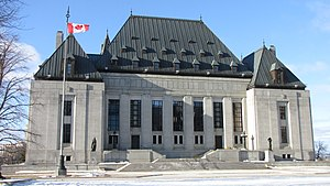 Supreme Court of Canada building, Ottawa, Onta...