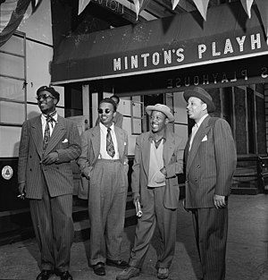 English: Thelonious Monk, Howard McGhee, Roy E...