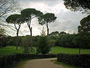 Español: Villa Ada, parque localizado en la ci...