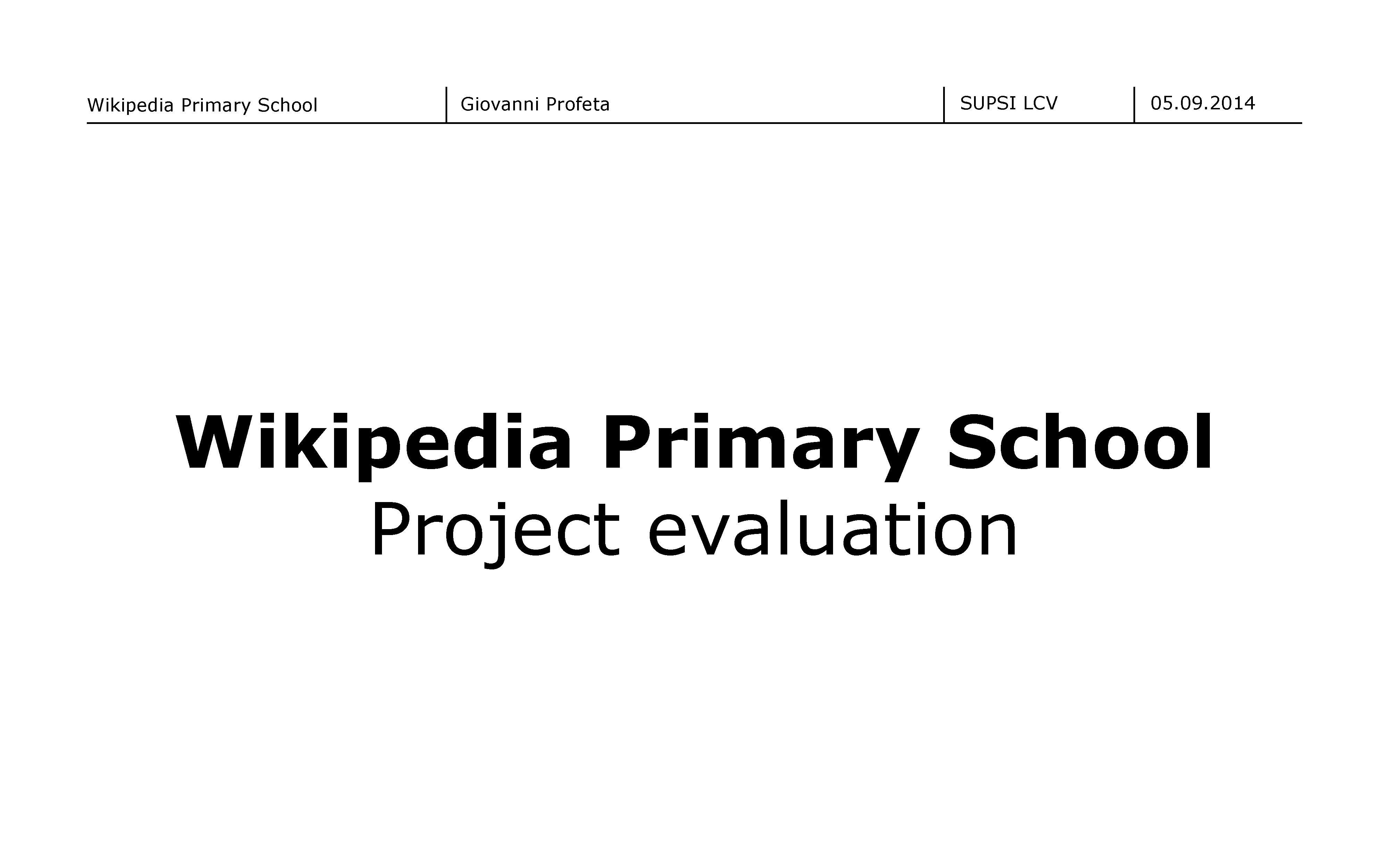 File Wikipedia Primary School