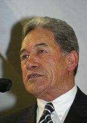 Peters speaks to Grey Power members, August 2011