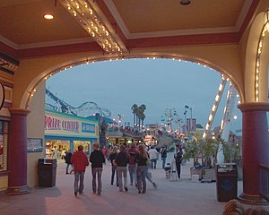 Late evening at the Boardwalk