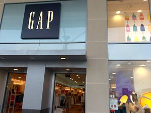 The GAP store at Castlepoint Shopping Centre