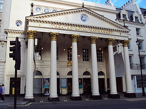 Haymarket Theatre, London.