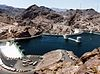 Hoover Dam and Arizona Spillway, 1983.jpg
