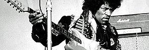 Jimi Hendrix at the amusement park Gröna Lund ...