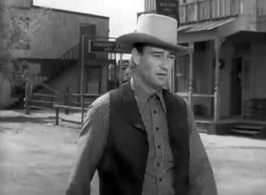 John Wayne in Tall in the Saddle Trailer