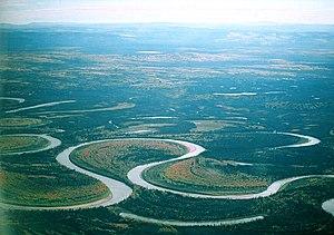 Meanders of Nowitna River, Alaska