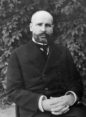 Tsarist Prime Minister Pyotr Stolypin, who eng...
