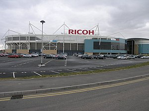 Ricoh Arena. The Ricoh Arena, the Home of Cove...