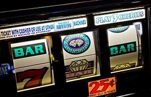 English: Slot machines (las vegas)