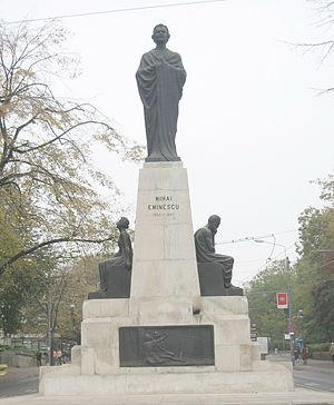 English: Iaşi , Mihai Eminescu Statue , Iaşi ,...