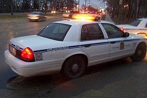 English: Winnipeg Police Service car.