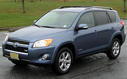 2010 Toyota RAV4 Limited V6 (US)
