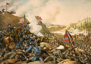 English: TITLE: Battle of Franklin. November 3...