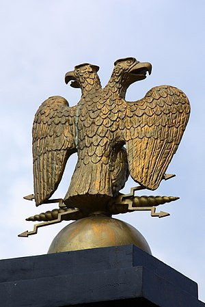 double headed eagle on the kremlin