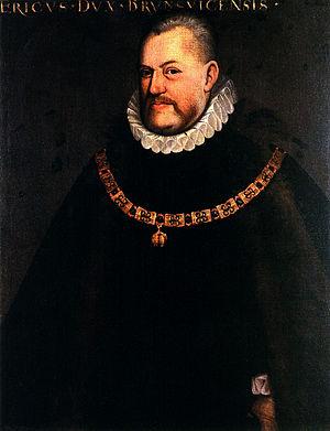 Herzog Erich II. von Calenberg, zeitgenössisch...