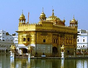 The Harimandir Sahib, commonly known as the Go...