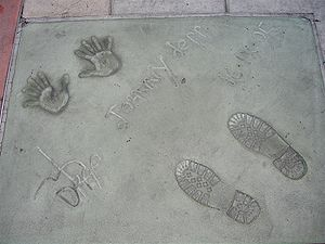Johnny Depp Footprint