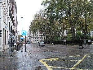 English: Junction of Baker Street and Portman ...