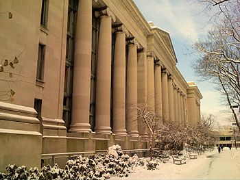 Harvard Law School Langdell Library in Cambrid...