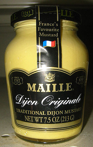 English: Dijon mustard Maille Originale, 213 g
