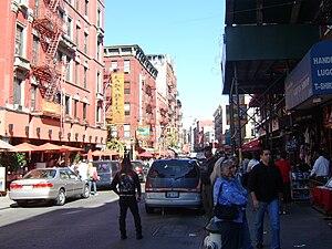 Mulberry Street, Little Italy, Manhattan, New ...