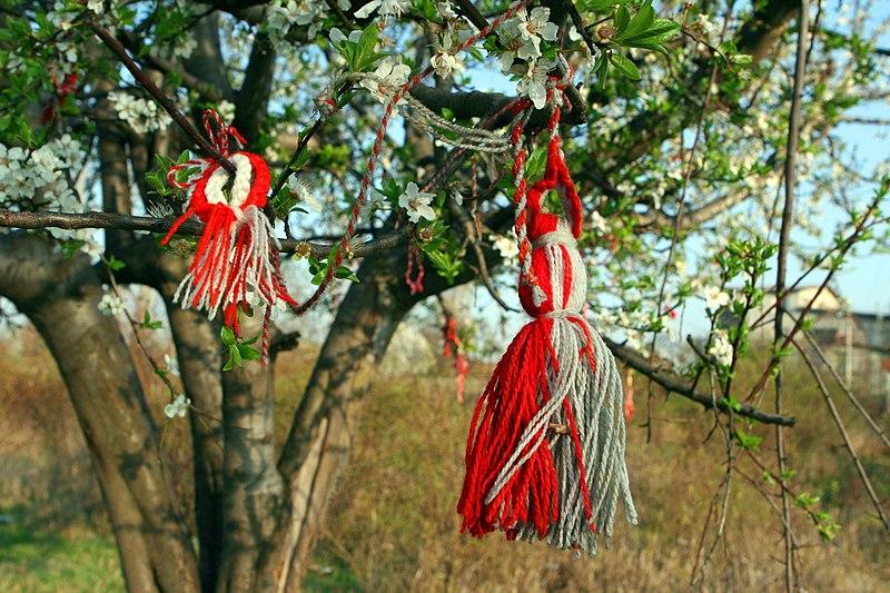 martenitsa arbre voeux