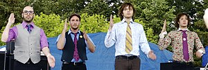 OK Go at the Albany Tulip Festival