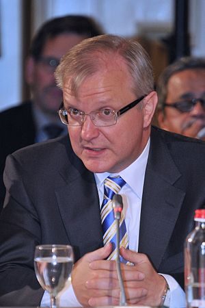 Olli Rehn, EU Economic and Monetary Affairs Co...
