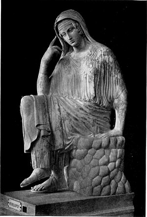 Rome - Vatican - Museo Pio-Clementino - Penelo...