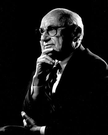 English: Portrait of Milton Friedman