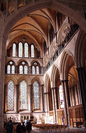 view of Salisbury Cathedral, United Kingdom